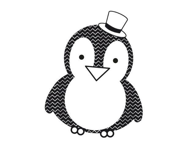 Kaisercraft Mini Penguin Clear Stamp #CS956