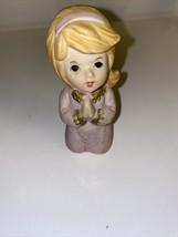 Vintage Homco 5211 Praying Girl - $5.25