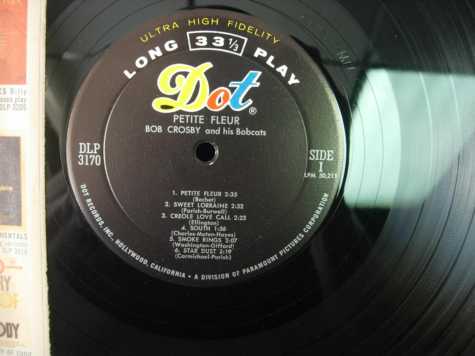 Bob Crosby & His Bobcats - Petite Fleur - Dot DLP 3170
