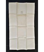 "antique IRISH SHAMROCK LINEN Kitchen Towel w Original Tag unused 32""x18""... - $34.95"