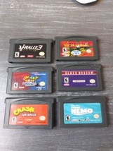 Lot of 6 Game Boy Advance GameBoy Video Games For Kids - $12.19