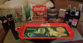 Lot of 18 Coca Cola collectible pieces - $54.45