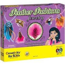 Creativity For Kids Feather Fashions Jewelry - $16.82