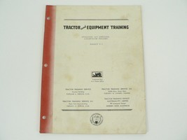 Tractor Equipment Training Manual Operating/Servicing Caterpillar Tracto... - $50.00