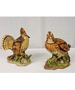 Pair of Vintage Porcelain Birds NORLEANS JAPAN Antique - 1978 & 1980 - $9.99