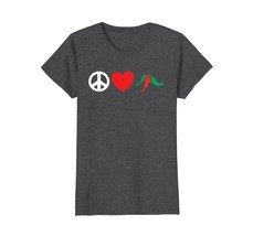 Funny Shirts - Mexican Peace Love Hot Peppers Cinco de Mayo Gift T Shirt... - $19.95+