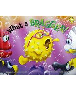 What A Bragger Hardcover Book Adventures of the Sea Kids Award Winning S... - $12.84