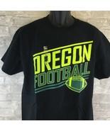 Oregon Football Black Short Sleeve T Shirt Large - $16.72