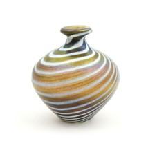 VIntage Boda Kosta Boda Mini Vase Art Glass Bertil Vallien Minos Series ... - $70.11