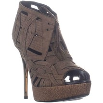 Burberry English Icons Darfield W110 Strappy Sandals, Walnut Brown, 7.5 US - $543.97