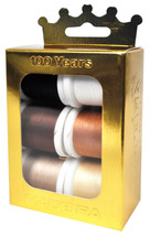 Madeira Anniversary Crown Box Cotona 30 Embroidery Thread - $29.66