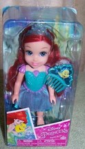 "My First Disney Little Mermaid Petite ARIEL 6"" Doll New - $15.72"