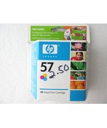 HP 57 Tri-Color Inkjet Print Cartridge Exp Apr 2007 New Sealed - $2.99