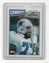 1987 Topps #268 Jim Jeffcoat (Dallas Cowboys) Football Card - $1.42