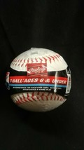"Tee T-Ball TVB 1518R15 Rawlings 5 oz 9"" Baseball  - $9.65"