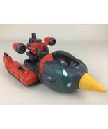 Teen Titans Go Drill Driver Action Vehicle DC Comics 2004 Bandai Toy Firing - $17.77