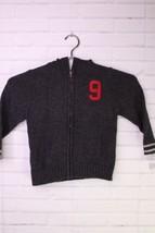 OshKosh Bgosh Sweater Cardigan Zip Up Dark Gray Toddler Boys Size 3T - $23.36