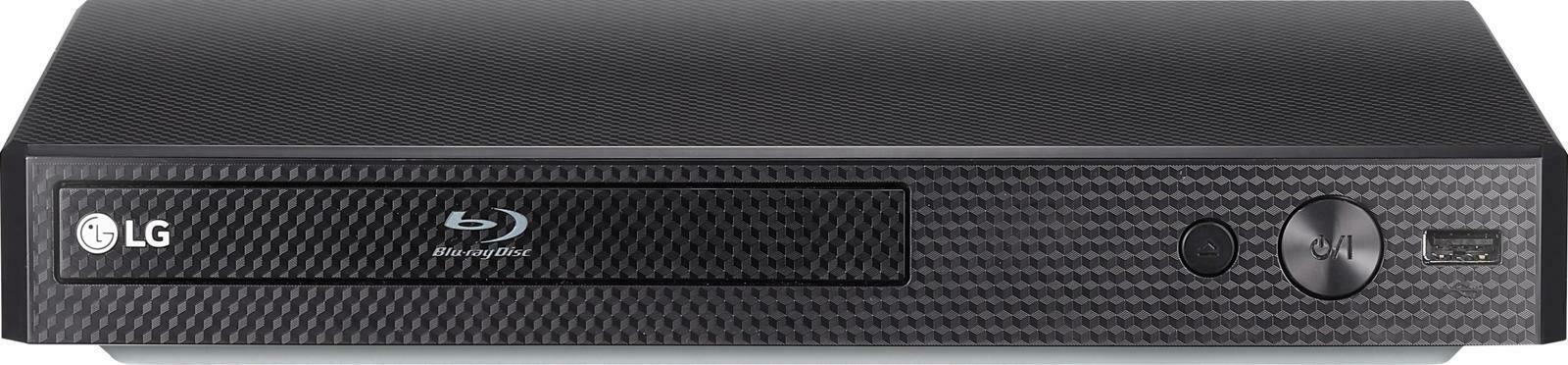 LG - Streaming Audio Blu-ray Player - Black - new (bb) - $80.18