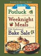 3 Books in 1: Potluck Cookbook, Weeknight Meals Cookbook, and Old-fashio... - $5.27