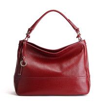 Luxury SOFT Genuine Leather Women Bag Leather Shoulder Work bussiness la... - $129.29