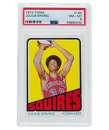 Julius Erving 1972 Topps #195 Squires Rookie Basketball Card PSA 8 - $12,869.99