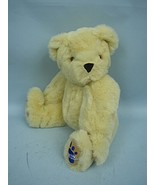 """15"""" Tan Plush Jointed Bear by The Blue Foot Bear Co. - Made in UK - $36.62"""