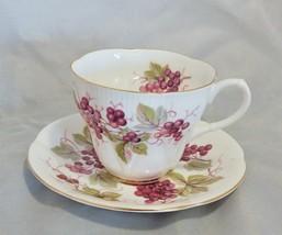 "Royal Albert England Random Harvest Series ""KENT"" Cup and Saucer Set - $20.79"