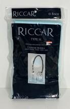 Riccar Genuine Type H Paper Vacuum Bags See Canister Models Below 6 Bags - $14.85