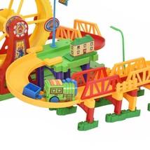 54 pcs Railway Train Building Blocks with Light & Music - $16.77