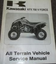 2004 Kawasaki KFX700 V FORCE ATV Service Workshop Repair Shop Manual NEW - $138.55