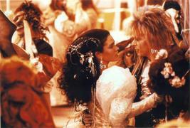 David Bowie Jennifer Connelly Labyrinth Dancing Photo 7L-924 - $14.84