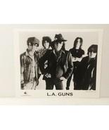 "L.A.GUNS - PROMO PICTURE - RARE - 8"" X 10"" + STICKERS - FREE SHIPPING - $23.38"
