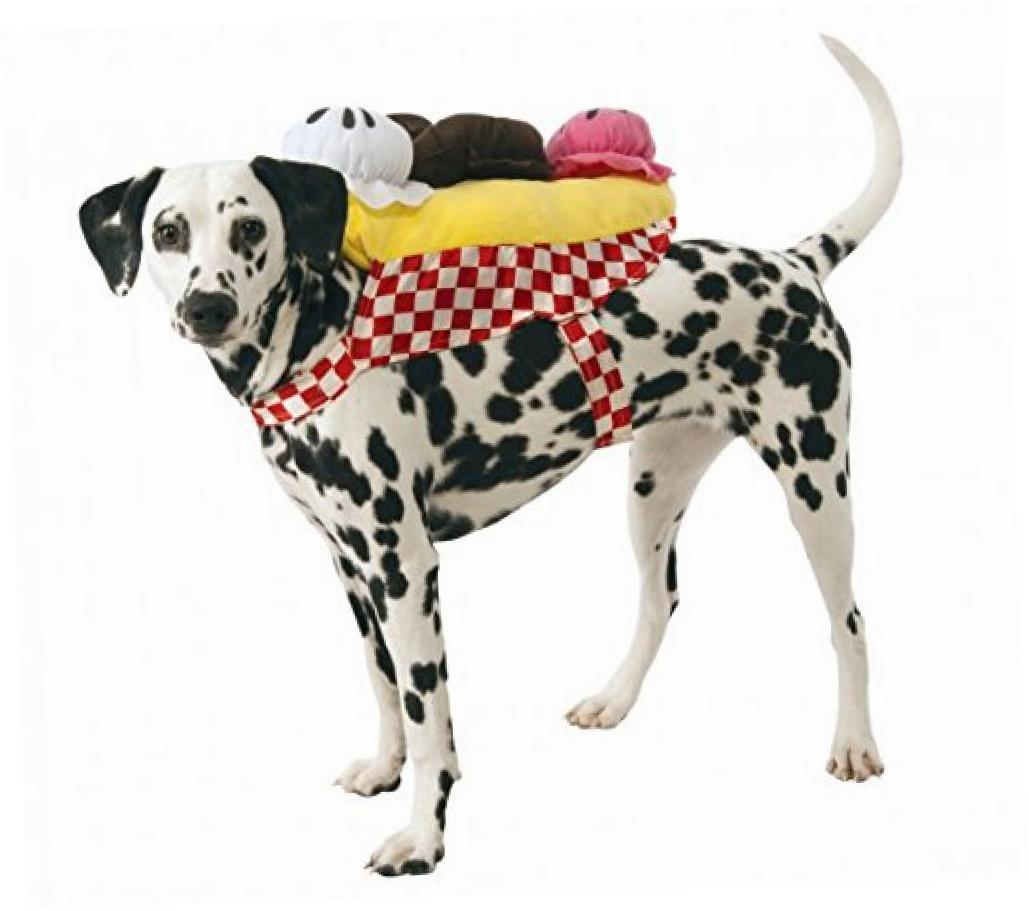 Rubie's Banana Split Ice Cream Sundae Dog Costume, X-Large