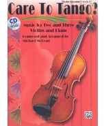 Care to Tango? Book 1: Music for Two and Three Violins and Piano - $24.95