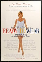 "READY TO WEAR 27""x40"" Original Movie Poster One Sheet Pret-A-Porter Robe... - $48.99"