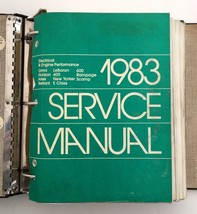 1983 Chrysler Car Service Manual Auto Engine Electrical Chassis Body Lot Gift - $49.45