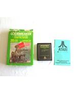 Atari Game Video Cartridge Box Registration Card Codebreakers Program CX... - $14.24