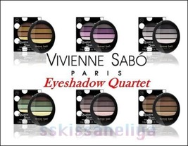 VIVIENNE SABO QUATRE NUANCES Eyeshadows 3.8g CHOOSE Amazing Color Rendition - $12.29