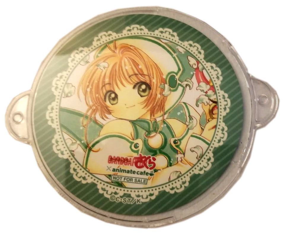 Cardcaptor Sakura Green Animate NFS Anime Coaster * Card Captor