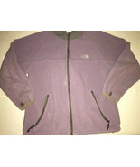 The North Face Denali Purple Fleece Jacket Girl Youth Sz XL Polartec - $15.79