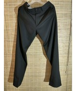 Haggar H26 Men's Straight Fit 4 Way Stretch Trousers - Black No Iron 32 ... - $21.51