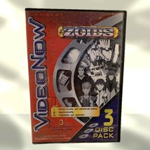 Video Now Zoids 3 Disc Pack Volume One Festival Of Braveman Track Of Zero - $9.49