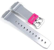 Casio watch strap watchband Resin Band Silbergray for DW-6900 DW-6900CB-8ER - $40.54