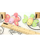 """LITTLE TIKES 3"""" BUTTERFLY PULL STRING TOY FIGURES FOR BATH USED 'MISSING... - $8.45"""