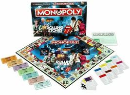 The Rolling Stones Monopoly - Classic Rock & Roll Band Memorabilia Board... - $57.99