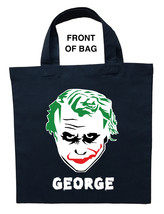 Joker Trick or Treat Bag - Personalized Joker Halloween Bag - $11.99+