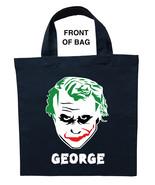 Joker Trick or Treat Bag - Personalized Joker Halloween Bag - $11.99+