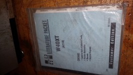 Hyster w40xt literature packet user guide manual maintenance electrical ... - $24.75