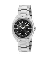 Gucci YA142401 Black Dial Stainless Steel Strap Gents Watch - £327.71 GBP