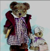 """Boyds Bears """"Momma Berrywinkle & Woodrow""""- 12"""" QVC Exclusive-#C46472- NEW- 1998 - $69.99"""
